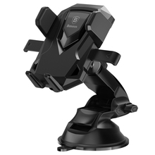 Baseus Car Holder For iPhone 6 7 Telescopic Sucker Suction Cup Car Mount Holder For Samsung S8 Auto Locked Clamping Phone Stand