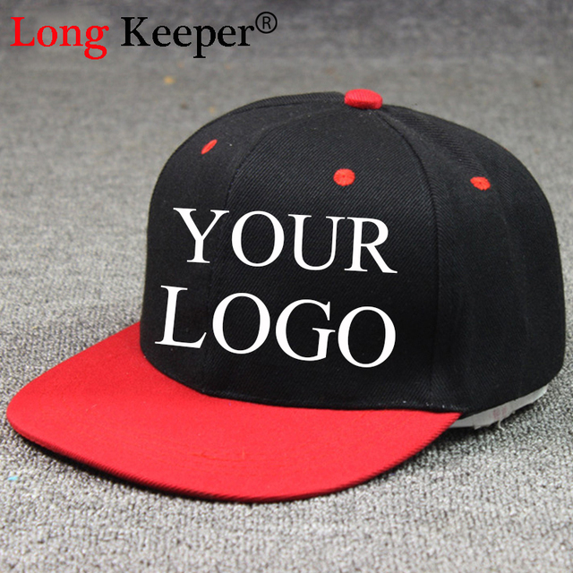 Long Keeper Snapback Caps Blank Hip Hop Hats Customized Net Baseball Caps  LOGO Printing Adult Hats Casual Peaked Hat 10pcs lot e29182046abc