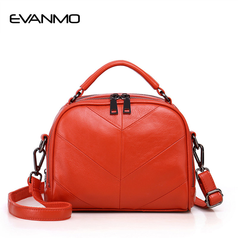 New Real Cow Leather Ladies Women Genuine Leather Handbag Designer Vintage Bag Black High Quality Shoulder Bag Bolsas Femininas стоимость