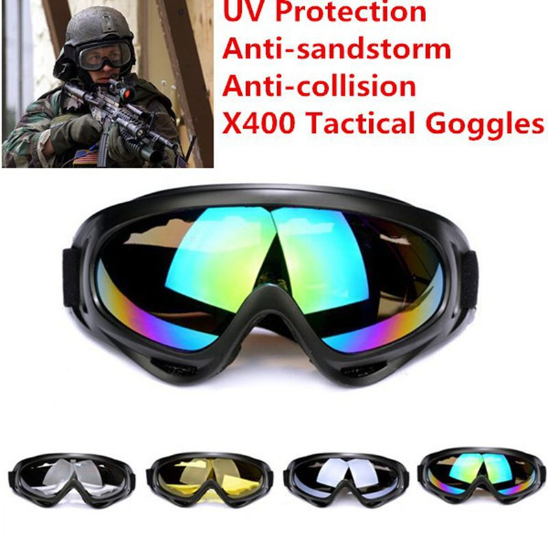 Windproof Tactical Sunglasses Goggles Tactical Eyewear USMC Paintball Military Equipment Eye Protection Airsoft UV400 Glasses