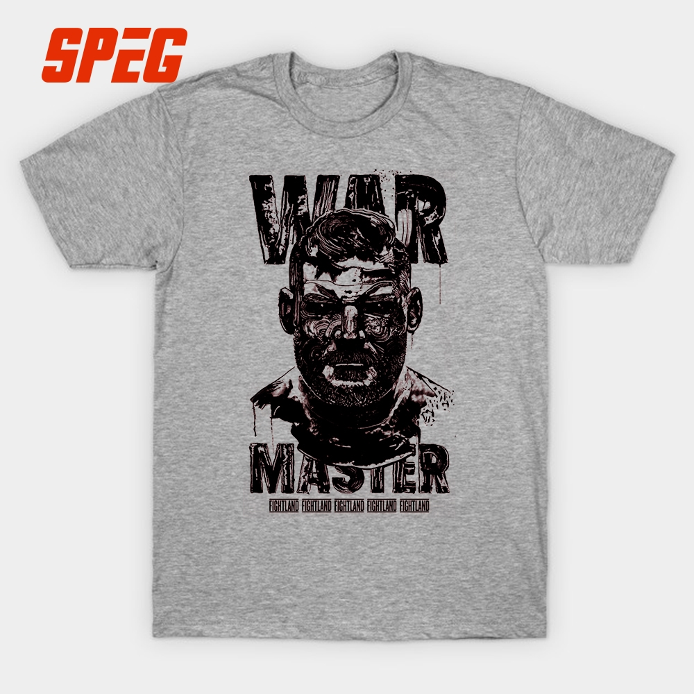 Mike Tyson War Master VICELead Josh Barnett T-Shirt Men Round Collar Short Sleeve T Shirts Wear Male