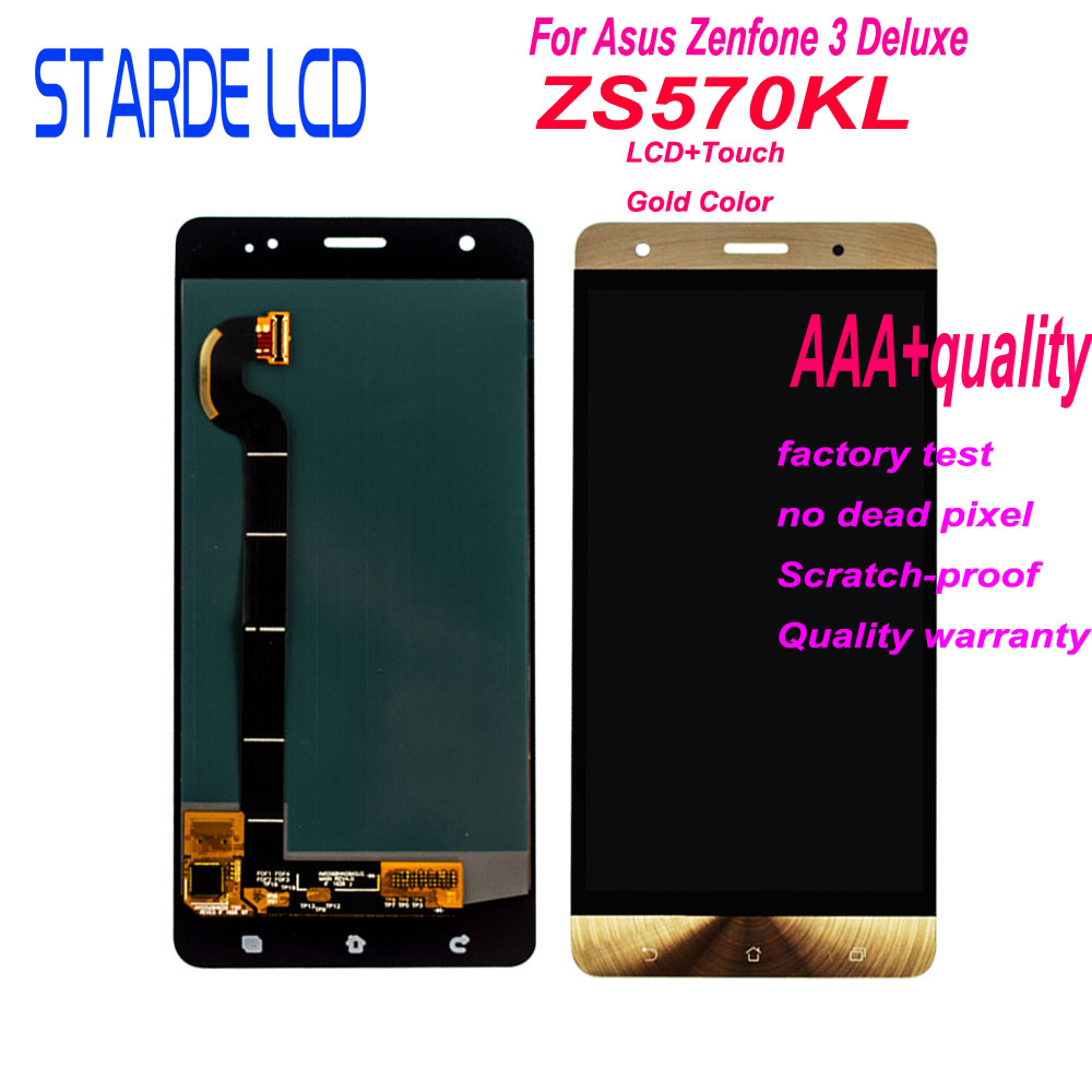 Starde Lcd For ASUS Zenfone 3 Deluxe Z016S Z016D ZS570KL LCD Display Touch Screen Digitizer Assembly ZS570KL Screen Replacement Starde Lcd For ASUS Zenfone 3 Deluxe Z016S Z016D ZS570KL LCD Display Touch Screen Digitizer Assembly ZS570KL Screen Replacement