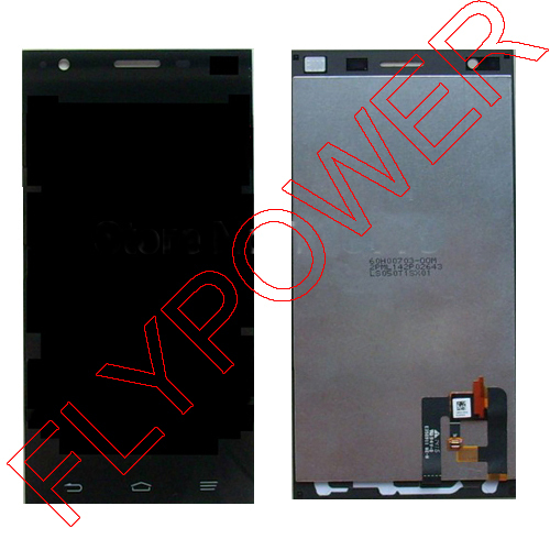 ФОТО For ZTE STAR 1 S2002 LCD With Touch Screen Complete Set by Free Shipping;
