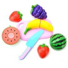 Hot 12PC Cutting Fruit Vegetable Pretend Play Children Kid Educational Toy Levert Dropship