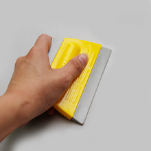 Vinyl wrap tool glass Water Removing Squeegee Deluxe Rubber-edge 3H for water removal
