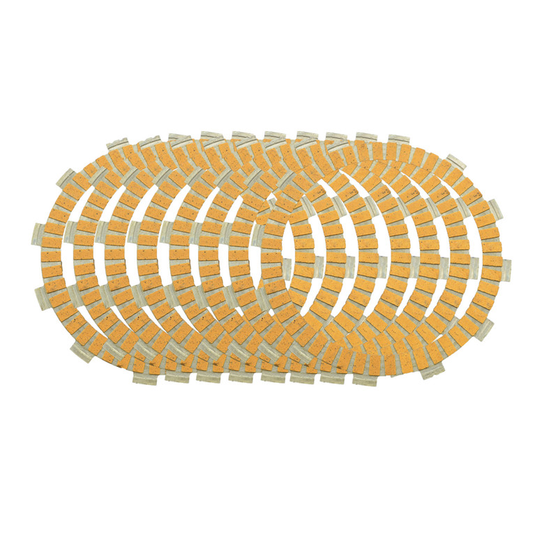 Motorcycle Engine Parts Paper-based Clutch Friction Plates Kit For YAMAHA YZ450F <font><b>YZ</b></font> 450F YZ450 F <font><b>YZ</b></font> <font><b>450</b></font> F 2007-2012 #CP-00017 image