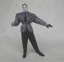 DC Super-heróis Cmoic Gordura Coringa Batman Figuras de Ação Toy Collectible Modelo 18 cm(China)
