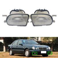 Dla Mercedes Benz W210 208 1997 2002 2 sztuk lampa światła przeciwmgielne z przodu pokrywa wykończenia w Zestawy karoserii od Samochody i motocykle na
