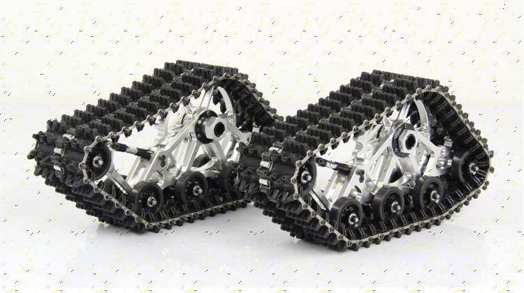 CNC dedicated crawler belt for baja 5B 5T 5SC HPI 85195 apron wheel caterpillar band цены