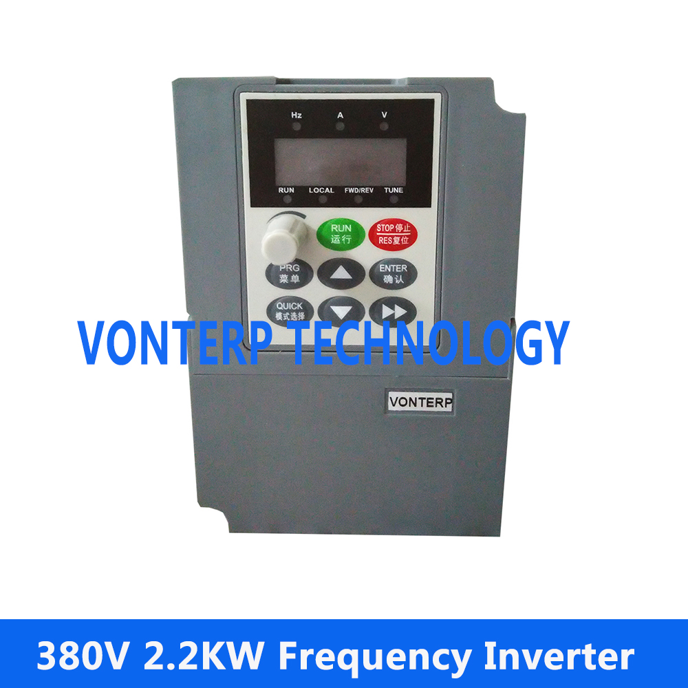 AC motor speed control 380v 2.2kw VFD Variable Frequency Drive VFD Inverter frequency inverter