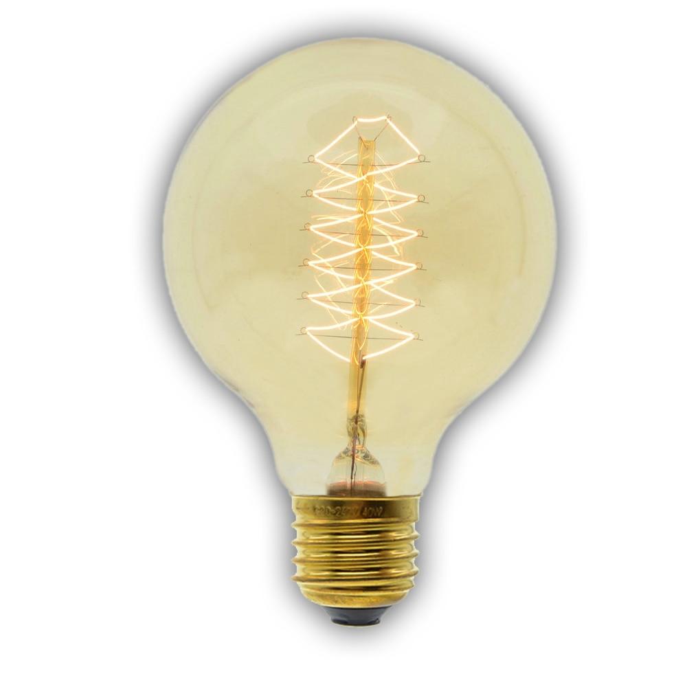 Buy G80 Led Filament E27 40w Bulb Online: Aliexpress.com : Buy Incandescent Vintage Bulb E27 40W