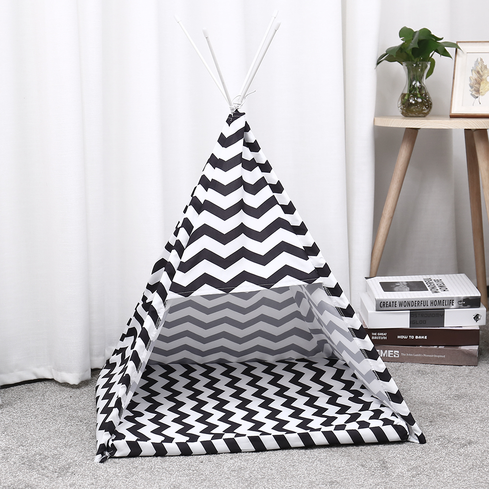 Pet House Tent Shaped Pet Cozy House Cat Home Small Dog Cat Foldable Bed Cat House Puppy Kitten Bed Animals Home Products 11