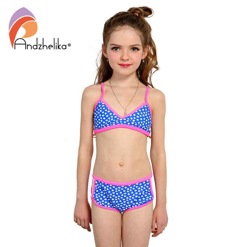 e9aceaa2912 Detail Feedback Questions about Andzhelika Swimsuit Girl's Bikini ...