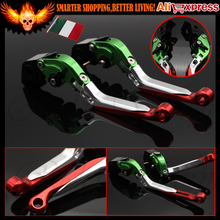 Italy Folding Extendable Adjustable Motorcycle Brake Clutch Lever For Ducati DIAVEL CARBON 749 999 1198 S