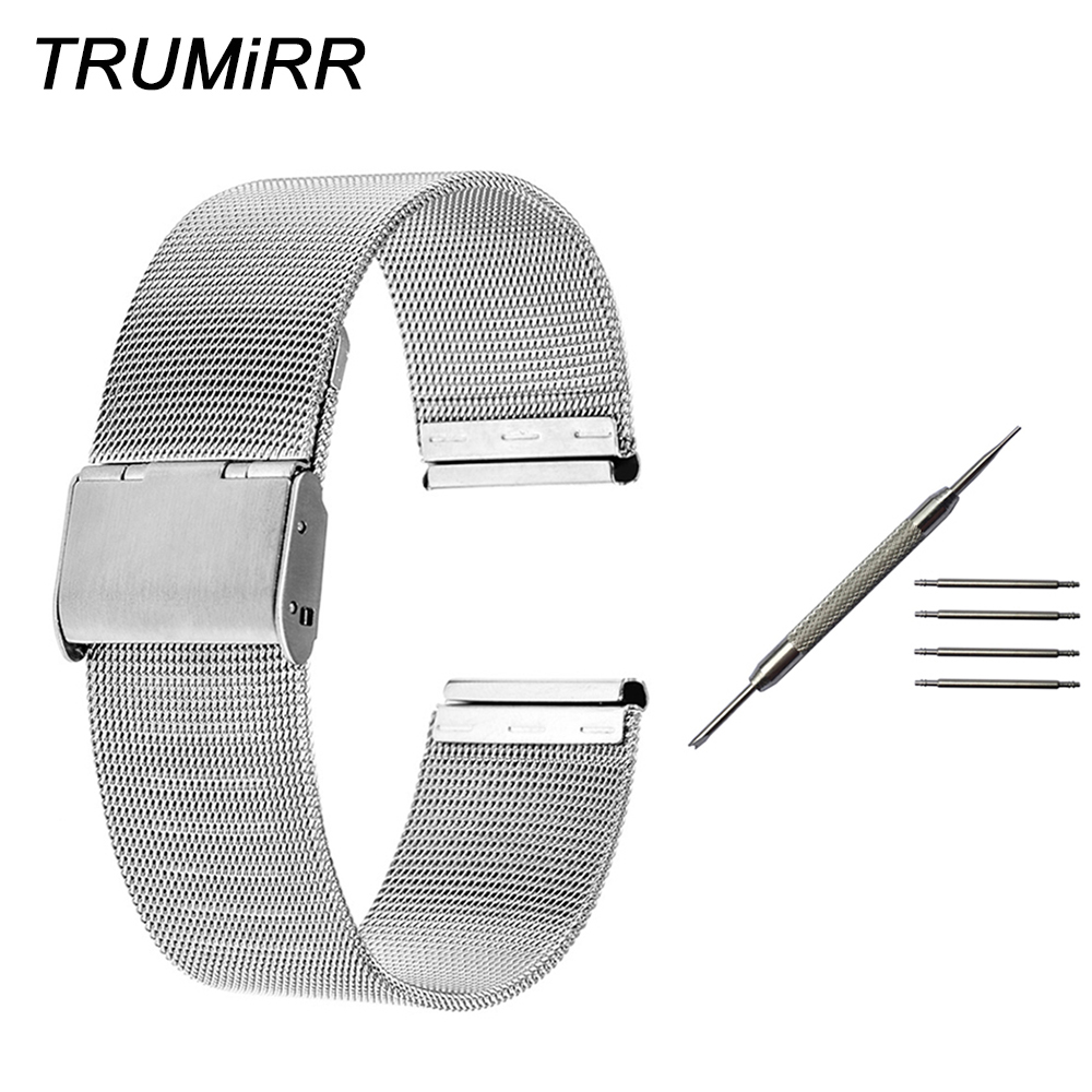 18mm 20mm Milanese Watchband for DW (Daniel Wellington) Men Women Watch Band Stainless Steel Strap Bracelet with Tool Spring Bar18mm 20mm Milanese Watchband for DW (Daniel Wellington) Men Women Watch Band Stainless Steel Strap Bracelet with Tool Spring Bar