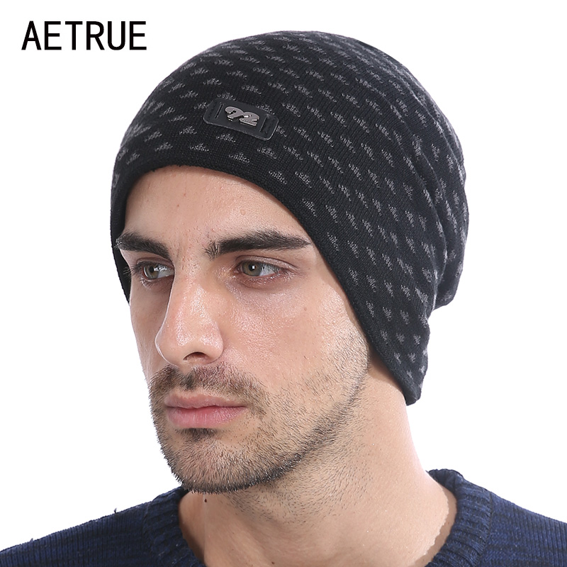 Winter Beanie Knit Hat Skullies Beanies Men Caps Brand Warm Baggy Balaclava Mask Fashion Winter Hats For Men Women Cap Hat 2017 aetrue skullies beanies men knitted hat winter hats for men women bonnet fashion caps warm baggy soft brand cap beanie men s hat