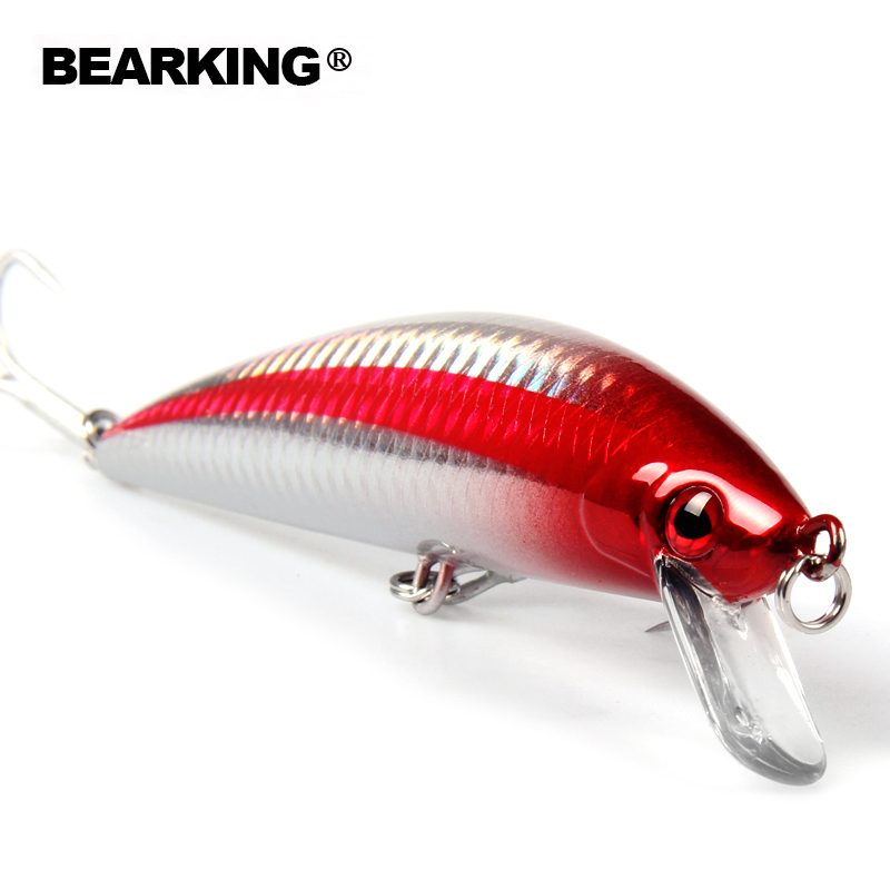 Bearking profesional Señuelos de Pesca 2016 caliente-venta minnow 120mm/40g super hundiendo crankbait lápiz popper hardbait minnow