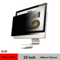 befon 19 Inch (16:10) LCD Monitor Privacy Filter for Widescreen Desktop Computer PC Screen Protective film 409mm * 256mm
