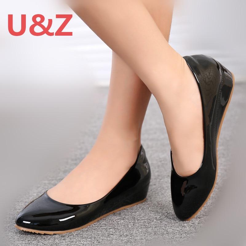 Go Street cute shoes low heels wedges