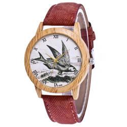 Женские модные повседневные кожаный ремешок аналог кварцевые круглые часы Аналоговые кварцевые наручные часы relogio masculino