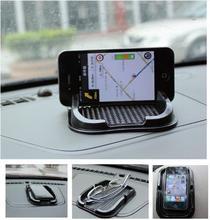 Черный приборной панели автомобиля Важная Коврик Многофункциональный Нескользящие гаджет мобильный телефон GPS держатель предметы интерьера Интимные аксессуары
