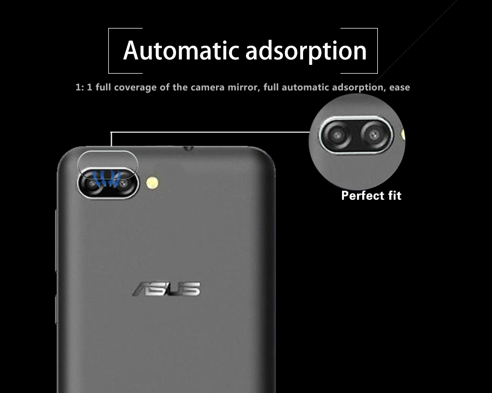 Ultra-thin Back Camera Lens Tempered Glass Film For Asus ZenFone Pegasus 4A ZB500TL Rear Lens Protective Film Glass Anti Shatter