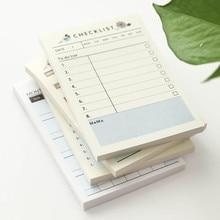 2019 Cute Kawaii Portable Pocket Notebook Weekly Monthly Book Diary Agenda for Kids Daily School Supplies Notebook Work Planner цена в Москве и Питере