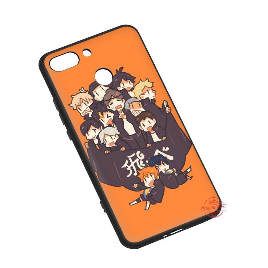 Webbedepp Cool Anime Volleybal Haikyuu Zachte Telefoon Case Voor Redmi Note 8 7 6 5 Pro 4A 5A 6A 4X 5 Plus S2 Gaan Gevallen