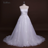 New Design A Line Lace Wedding Dresses 2018 Sweetheart Neckline Beaded Sashes Backless Sexy Vintage Wedding Gowns Bride dresses