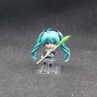 Toy Store Super Hot Anime Movies Around Toys 10CM Hatsune Miku 3 Toys PVC Material Popular Toys Holiday Gifts
