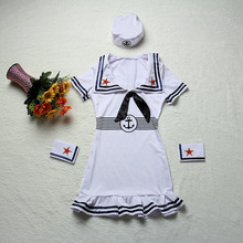 EU646 Sexy Navy Sailor Costume Dance Costume female Camouflage Dress Sailor Cosplay Costumes
