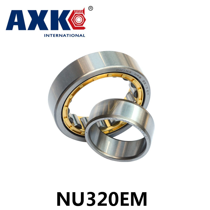 Axk Bearing Nu320em Cylindrical Roller Bearing 100*215*47mm mochu 22213 22213ca 22213ca w33 65x120x31 53513 53513hk spherical roller bearings self aligning cylindrical bore
