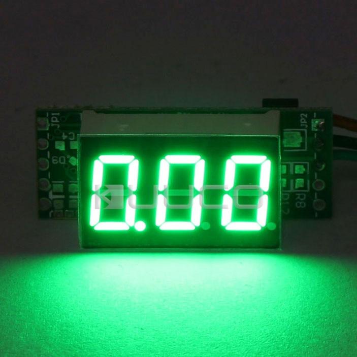 DC 0~10A Green LED Display Digital Ammeter 0.36 Current Monitor Meter DC 12V 24V Current Meter Ampere Meter