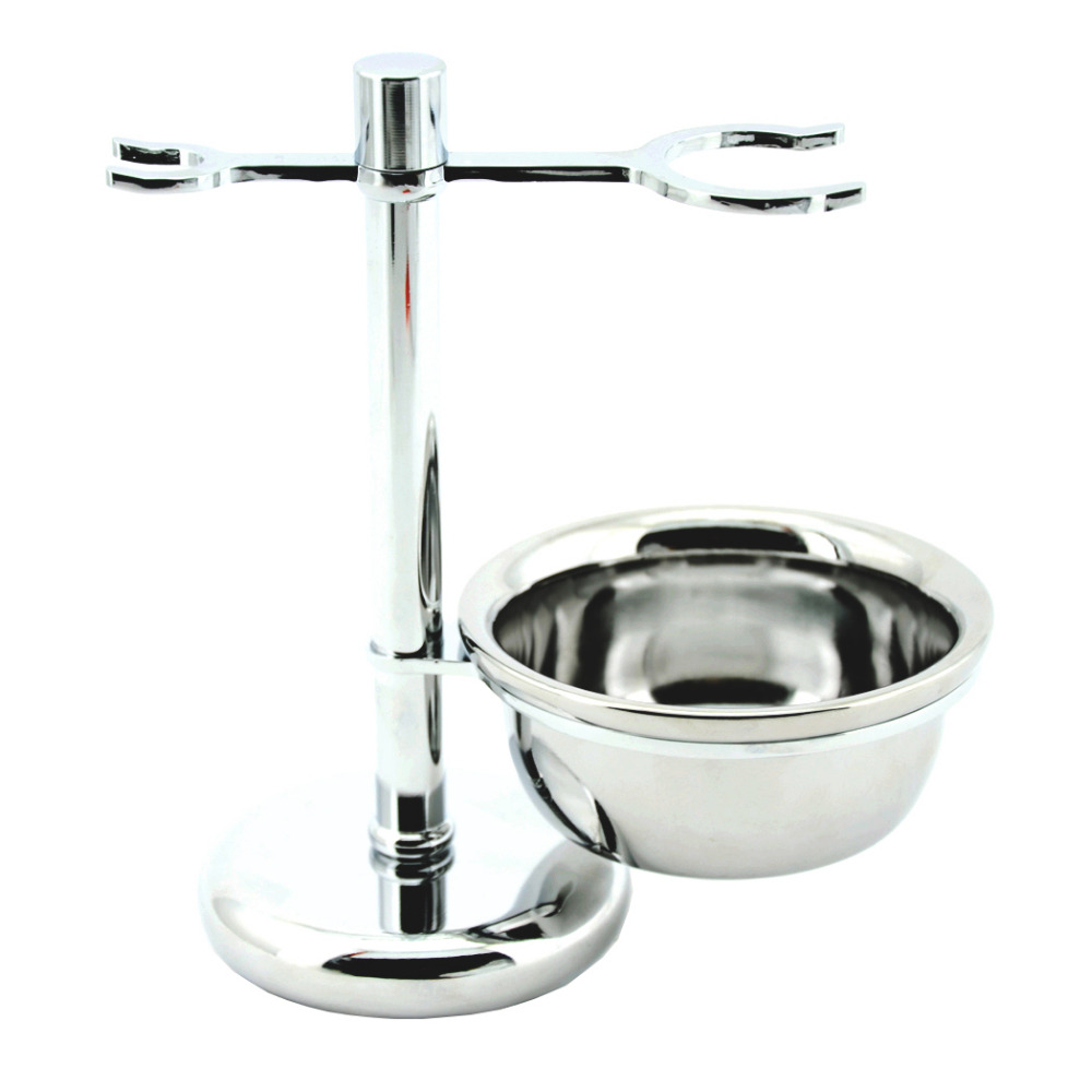 ZY Unique Men Safety Shaving <font><b>Blade</b></font> Razor Stand Badger Beard Brush Holder + Shave Soap Cream Bowl Mug Cup