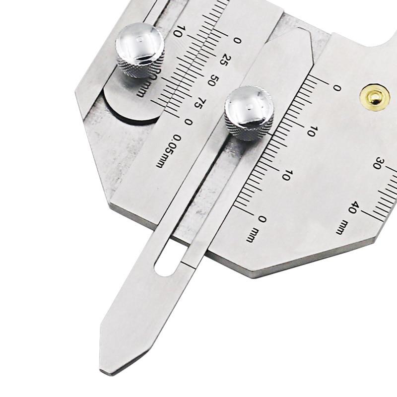 Gauge weld bead height welding seam gap gage welding inspection ruler Hand Tool Sets     - title=