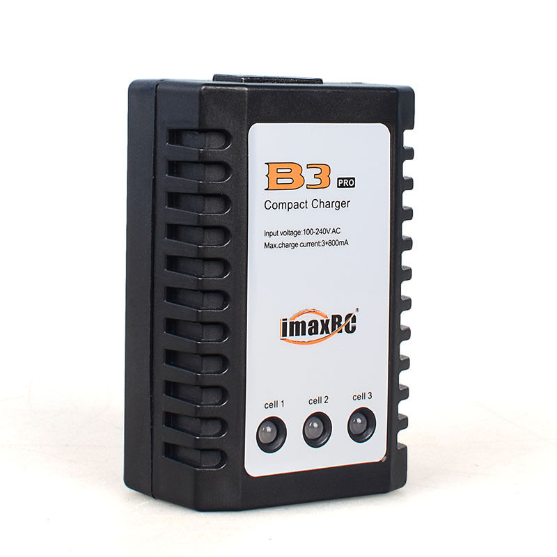 IMAX RC B3 Pro Compact Balance Charger for 2S 3S 7.4V 11.1V Lithium Lipo RC LiPo Battery Airsoft Gun Battery Free Shipping imax rc b3ac 2s 3s 7 4 v 11 1 v lithium electricity balance charger for rc lipo free shipping