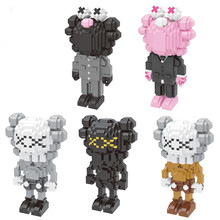 New 2019 Explosion Kids Children Fairy Fun Cartoon Cute Magic  Particles Assembling Characters Toys Building Blocks Model Gifts