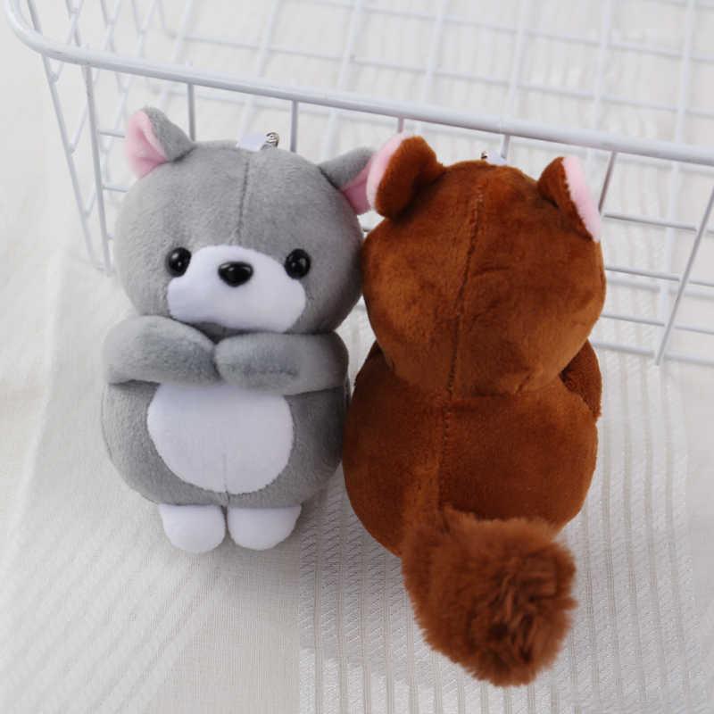 Sleutelhanger Hanger Handtas Rugzak Opknoping Accessoire Kawaii Knuffel Eekhoorn Kinderwagen Pasgeboren Speelgoed Baby Cadeau Voor Kinderen