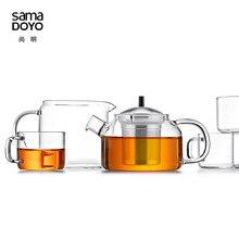 Samadoyo High Quality Tea Service Suit T107 Eight-piece Set/Teapot x1/cups x6/ Fair Mug x1 / Gift box