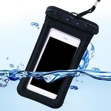 9 цветов сумка для плавания водонепроницаемый многофункциональный клапан Тип Мини 6 дюймов для сенсорный экран для смартфона сумка для телефона уход телефон сумка