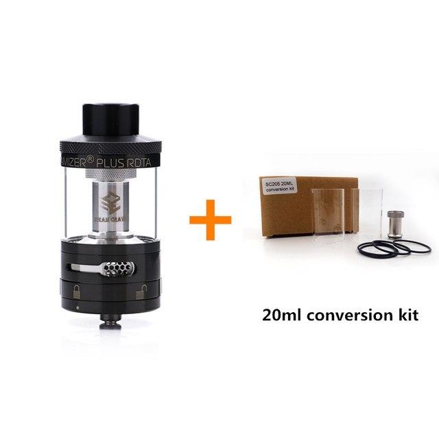 Original Steam Crave Aromamizer Plus RDTA 10ML e-liquid Enhanced airflow juice flow design RDTA tank electronic cigarette tank
