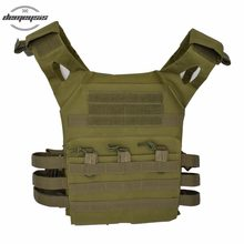 Military Tactical Plate Carrier Ammo Chest Rig J P C Vest Airsoft sports Paintball Body Armor Tactical Airsoft Vest(China)