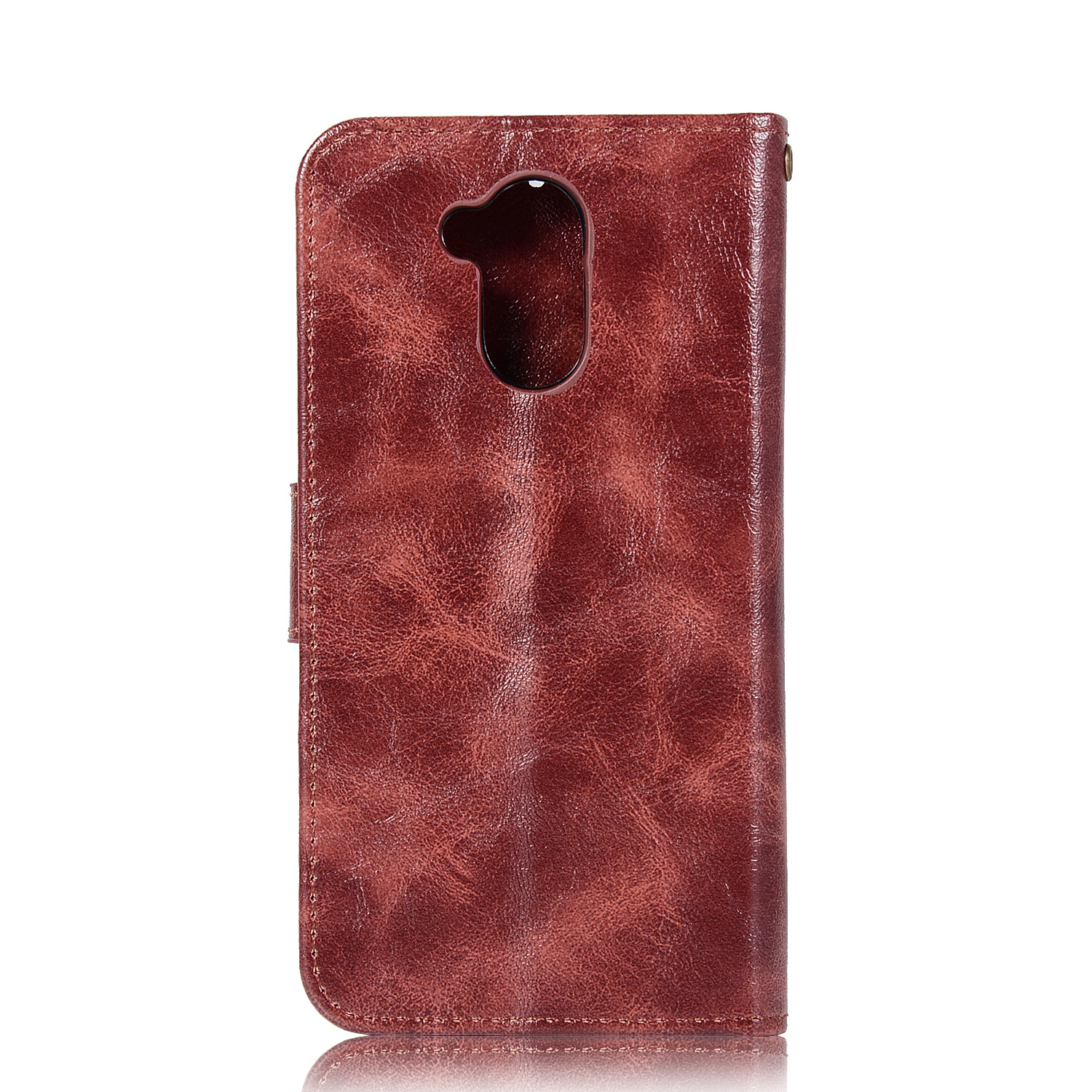 Image 4 - 20PCS Retro Business Cases Wallet For Huawei Honor 6C Pro Case Retro Flip Book Leather Cover For Huawei 6C Pro Phone Protector-in Wallet Cases from Cellphones & Telecommunications
