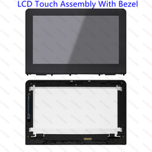 LED LCD Touch Screen Assembly With Frame For HP Stream x360 11-ab 11-ab030TU 11-ab052TU 11-ab008tu 11-ab030tu 11-ab118tu 4LQ97PA