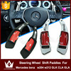 NightLord High-grade titanium Steering Wheel Shift Paddles For M-ercedes benz w204 w212 GLK CLA GLA Shift Paddles