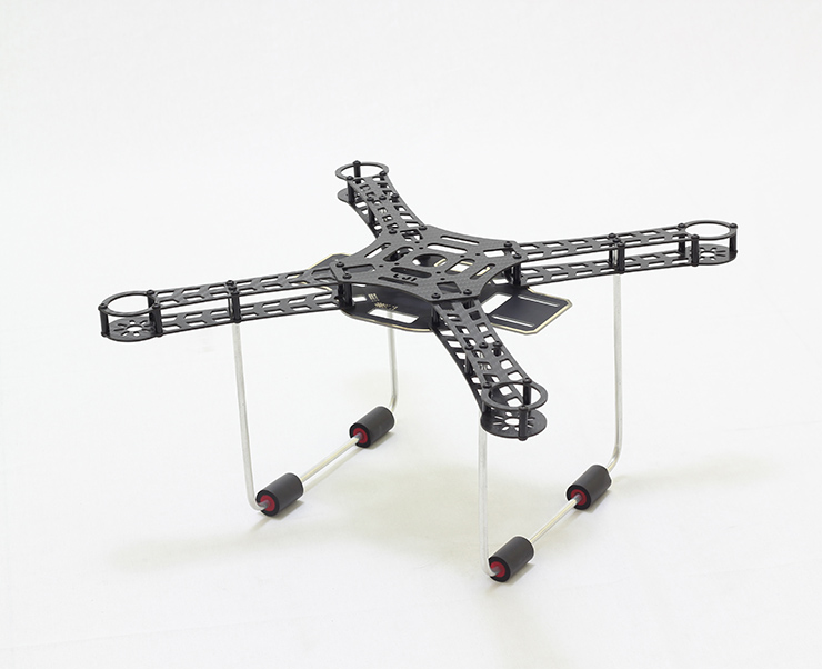Lji 380 Ultraligt Carbon Fiber Frame Kit with Power Distribution Board for DIY RC Multicopter FPV Drone