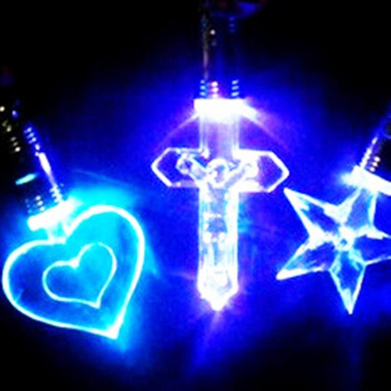 100 stks/partij Lichtgevende/Light Up/LED speelgoed Knipperende/Licht/Gloeiende/Led ketting Glow In De dark Party/Verjaardag/Kerst Decoratie-in Lichtgevend Speelgoed van Speelgoed & Hobbies op  Groep 2