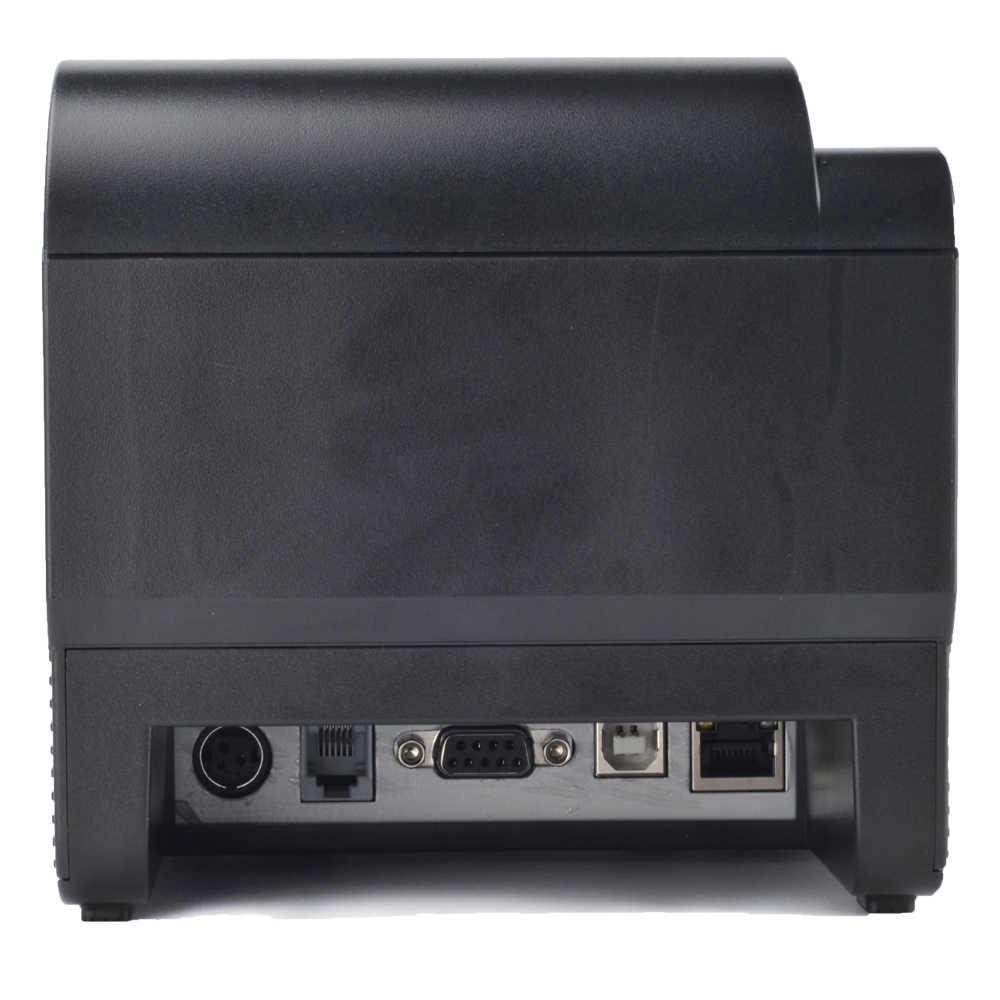 IssyzonePOS Термальный чековый принтер 80 мм автоматический резак заказ кухня стены принтер штрих-кода поддержка, кассовый аппарат печать логотипа окна