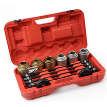 Factory Outlet 27-piece full car car bushing disassembly tool Rear axle iron sleeve disassembly tool(China)