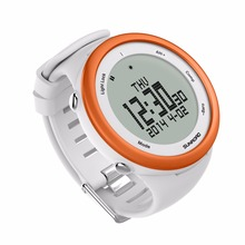 SUNROAD FR852A Digital Smart Sports Men Watch 5TM Waterproof Outdoor Altimeter Compass EL Backlight Watch Orange